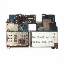 Oudini Original desbloqueado placa base para xiaomi A1 placa base dual tarjeta SIM 4G RAM 64 GB ROM