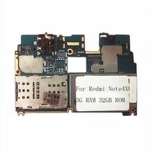 Oudini مقفلة الأصلي اللوحة ل xiaomi A1 اللوحة المزدوجة simcard 4G RAM 64 GB ROM