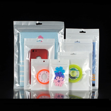100PCS Cell Phone Case Ziplock Bags PP Plastic Holder Stand Pouch Accesorries Packaging Sealing