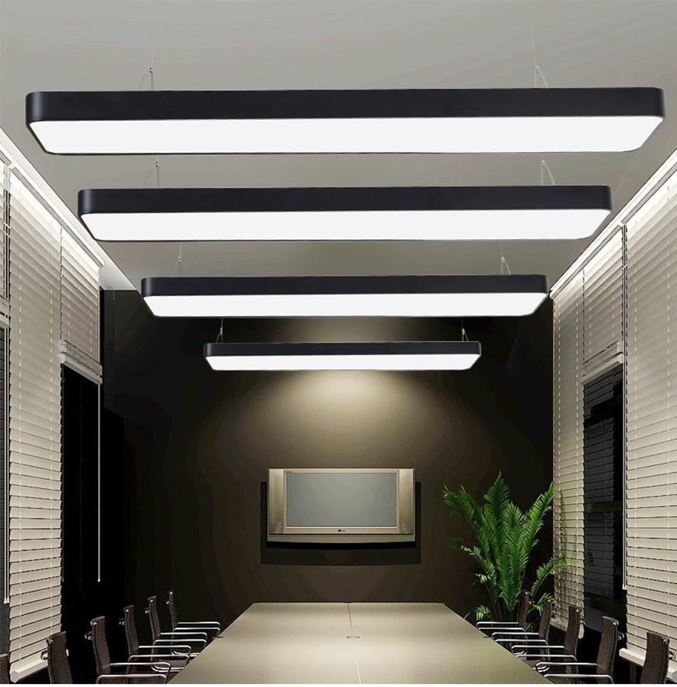 HTB1o8r9r4uTBuNkHFNRq6A9qpXaV LED Modern Ceiling Light Lamp dimmable Surface Mount Panel Rectangle Lighting Fixture Bedroom Living Room office light 110V 220V