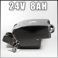 24v 8ah Electric Bicycle battery 24v Li ion battery FOR 350W E bike fro g case ebike battery