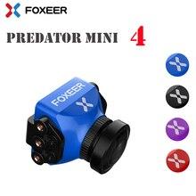 ใหม่มาถึง Foxeer Predator V3 Racing กล้องสภาพอากาศทั้งหมด 16:9/4:3 PAL/NTSC switchable Super WDR OSD 4 มิลลิเซคอน Latency รีโมทคอนโทรล