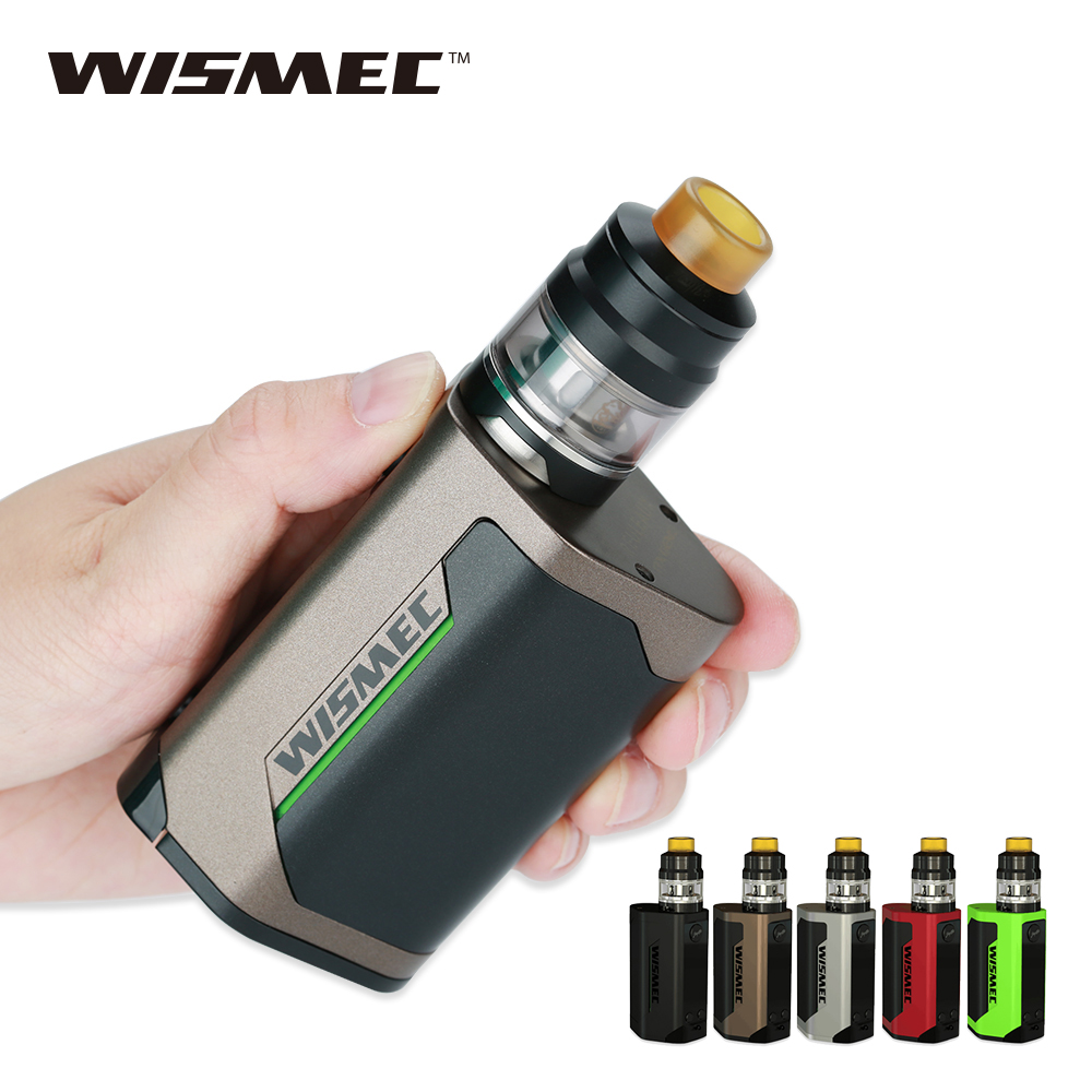 Original 300W WISMEC Reuleaux RX GEN3 Kit with 2ml Gnome Tank Max 300W Output No 18650 Battery Huge Power E-cigarette Mod Kit