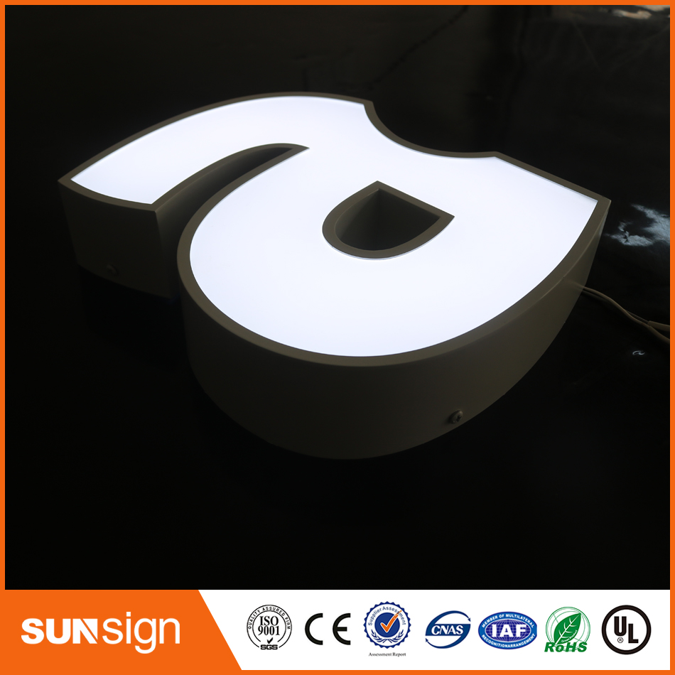 Outdoor Custom Acrylic Led Fronlit Channel Letters Sign
