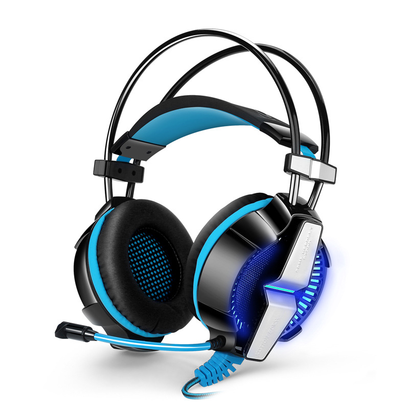 EACH G7000 7.1 Surround Sound channel Vibration Function Gaming Headset Stereo Bass USB Headphone For PC Laptop Gamer each g3100 vibration function pro gaming headphone games headset with mic stereo bass led light for pc gamer blue