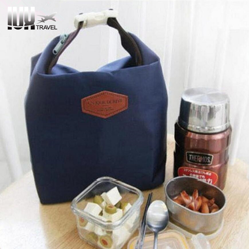 IUX Insulated Pouch Cooler Tote Portable Waterproof Food Storage Bag gastronomic lunch bags Navy Comfystyle san25 ga