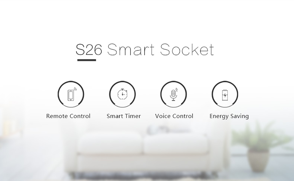 Wifi Smart Power Socket Plug