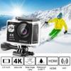 Akaso 4 k 액션 카메라 ek7000 와이파이 야외 비디오 익스트림 스포츠 hemet 울트라 hd 방수 12mp 다이빙 캠 수중