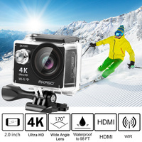 AKASO 4K Action Camera EK7000 WIFI Outdoor Video Extreme Sports hemet Ultra HD Waterproof 12MP Diving cam underwater