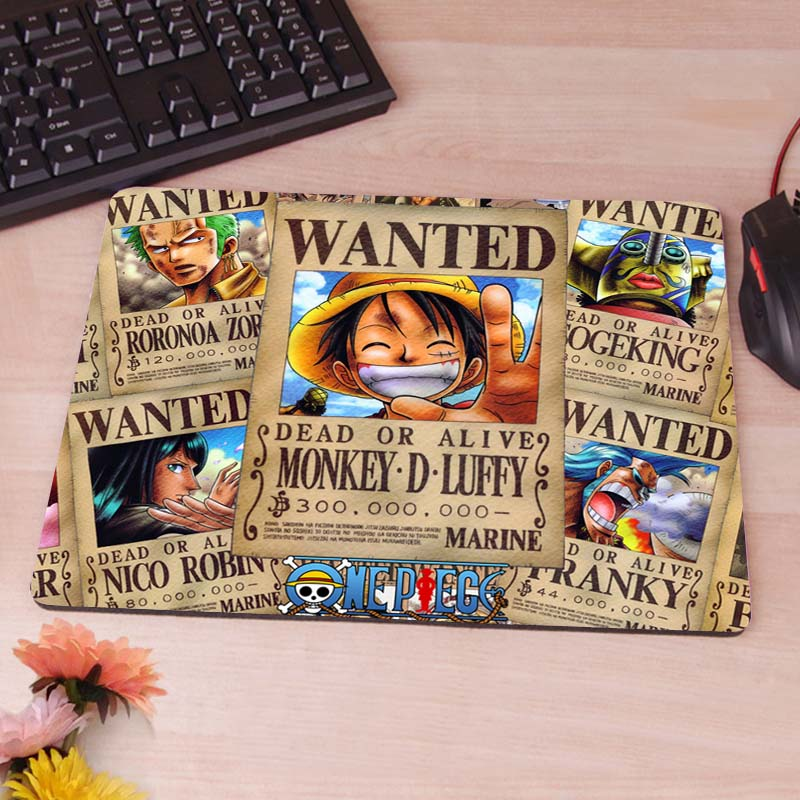 One Piece New Anti-Slip Mouse Pad PC Game Gaming Mouse Pad