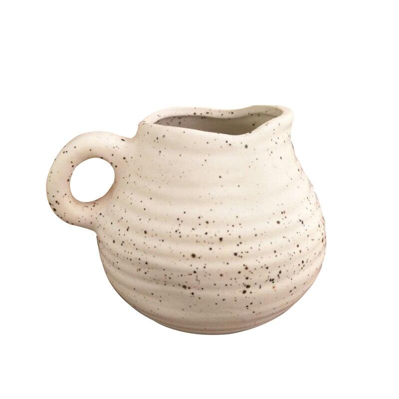 Household Tabletop Ceramic Vase Vintage Flower Vase Ornaments Creative Dry Flower Vases Container Home Decoration Wedding Gifts