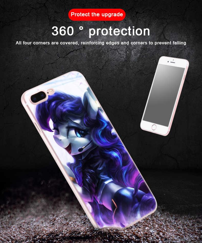 Модный телефон для iPhone 6 S 6 7 8 Plus 4 4s 5 5S SE чехол для iPhone XR 10 X XS Max Case My Little Pony