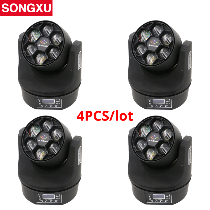 No tax Bee Eye 6X15W Moving Head Ultimate Rotate Stage Beam Effect Stage light 90W High