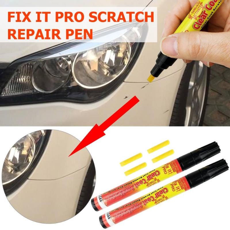 VODOOL Professional Fix it Pro Car Scratch Repair Remover Pen Clear Coat Applicator Painting Pen Touch Up Waterproof Paint Pens|Painting Pens| - AliExpress