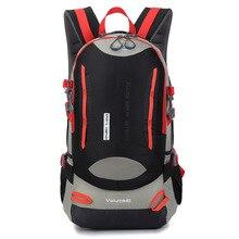 40L Climbing Rucksack Cycling Backpack Men Women Outdoor Sports Bag Waterproof Camping Hiking Backpack Water bag backpack