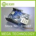 Бесплатный shpping 5 шт./лот Ethernet Shield W5100 Для 328 UNO Mega1280 2560 (поддержка карта micro sd)