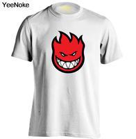SPITFIRE WHEELS Skateboard Zombie Flaming Head Logo Mens Womens Printing T Shirt Custom T Shirt