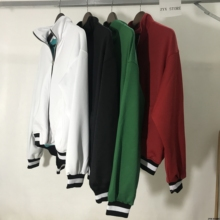 Фотография Fear Of God Fifth Collection Double Knit Track Jacket Hiphop Pop-Up Store 1987 FOG Women Men Jackets Coat Fear of god bomber