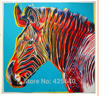 Zebra Pop Art 24X32 inches Painting Home Decoration Oil painting Wall Pictures for living room Home Decor paints Wall art paint