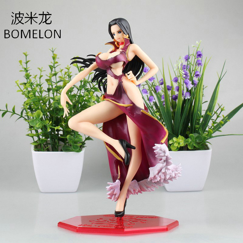 One Piece Boa Hancock 1/8 Aciton Figure 23cm Sexy Anime Figures Doll Girl Resin Model Toys Boys Birthday Christmas Gift cycling jersey womenpurple flowershort sleeve cycling clothing women cycling jersey cycling sets x608