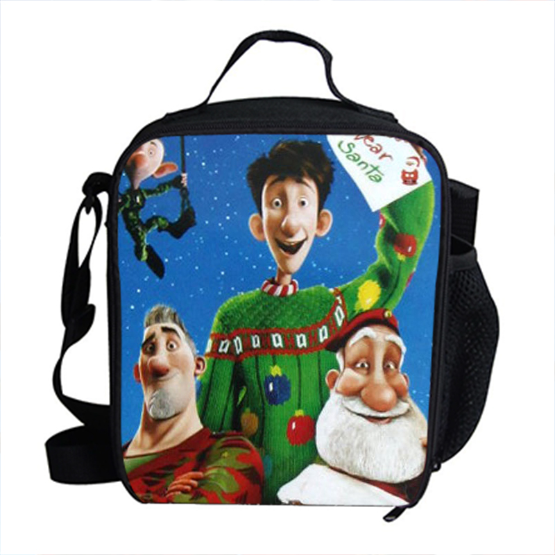 Cool Thermal Insulated Lunch Bag For Kids Arthur Christmas Gift Lunch Bag For Children School Cartoon Film Bags image