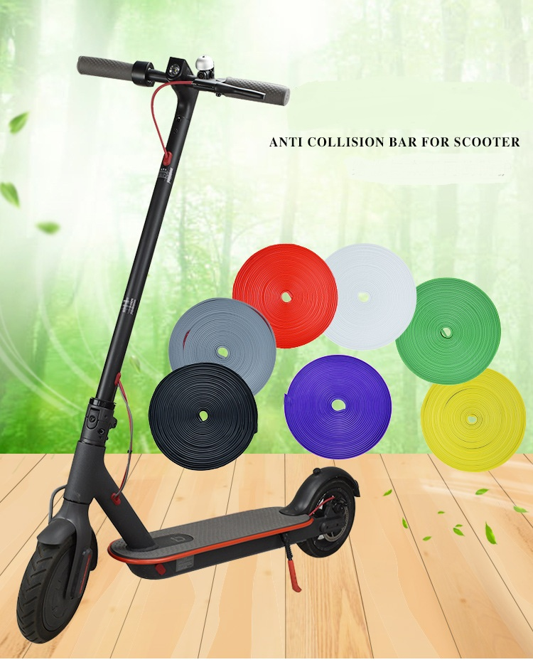 Bumper Protective Scooter Body Strips for Xiaomi Mijia M365 Electric Skateboard Car Decorative Parts
