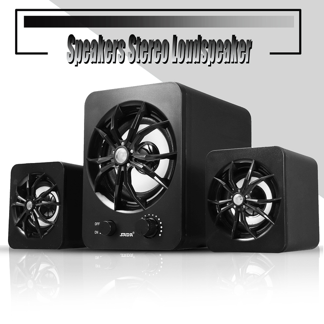 Computer bluetooth Speaker Stereo Loudspeaker Amplifiers with Colorful Lights for Mobile Phone
