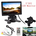 800 X 480 7 Inch Pixel TFT LCD Digital Panel Color Car Rear View Monitor with 2 Video Input Support USB