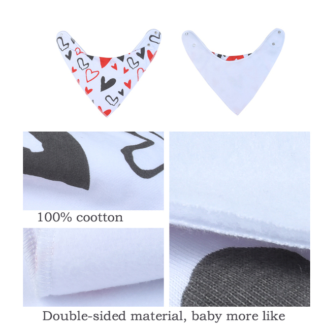 EGMAOBABY 6Pcs Baby Bandana Drool Bibs Super Absorbent 100% Organic Cotton for Drooling Teething and Feeding, Perfect6Pcs Baby Accessories Infant (3-12 months) Regular Bibs & Bandanas Shop by Age Toddler (1-3 years)