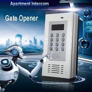 Image 1 - Беспроводная система контроля доступа 3G, домофон, Открыватель дверей, поддержка 1000 телефонов, управление с помощью sms клавиатуры K6C
