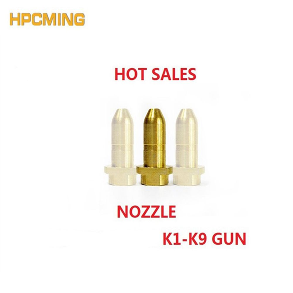 HPCMING brass nozzle washer accessories for KARCHER K1-K7 spray rod high quality brass nozzle(MOEP010)