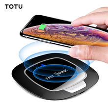 Birthday Cake 10 W Qi Wireless Charger untuk iPhone X XS Max XR Desktop Nirkabel Cepat Pengisian Pad untuk Samsung Galaxy catatan 9 8 S9 S8 PLUS(China)