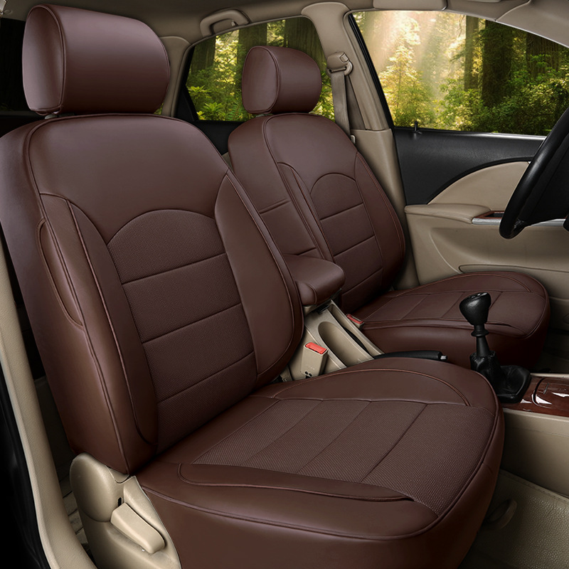 TO YOUR TASTE auto accessories CUSTOM luxury car seat covers leather cushion for Lincoln Navigator MKZ MKC MKX MKT waterproof - 4