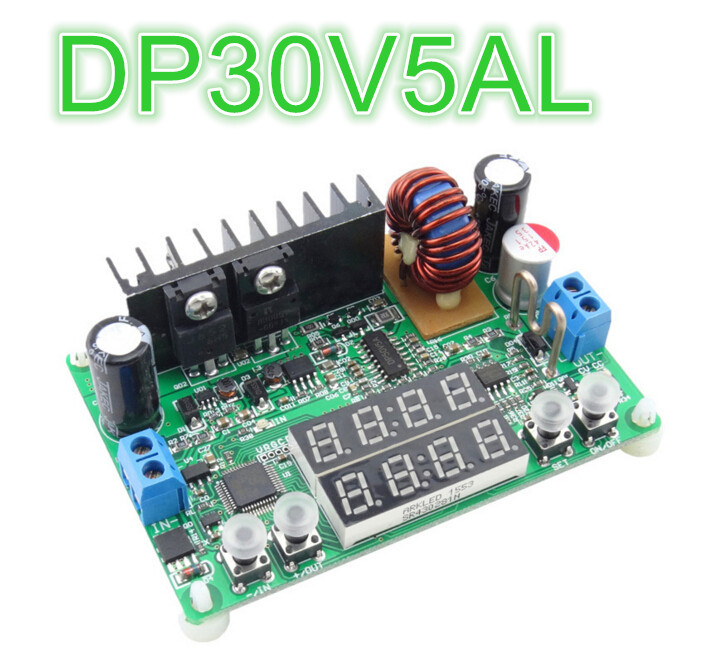 LED Display Constant Voltage Current Step-down Regulator DP30V5AL Programmable Power Supply Module  20%off