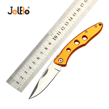 JelBo Mini Portable Folding Knife Survival Pocket Tactical Hunting Knife Camping Outdoor Kitchen Fruit Tools Knife стоимость