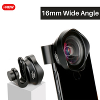 Ulanzi Aluminum Clip 16mm Super 4K Wide Angle Phone Lens Professional Universal HD Camera Lenses For