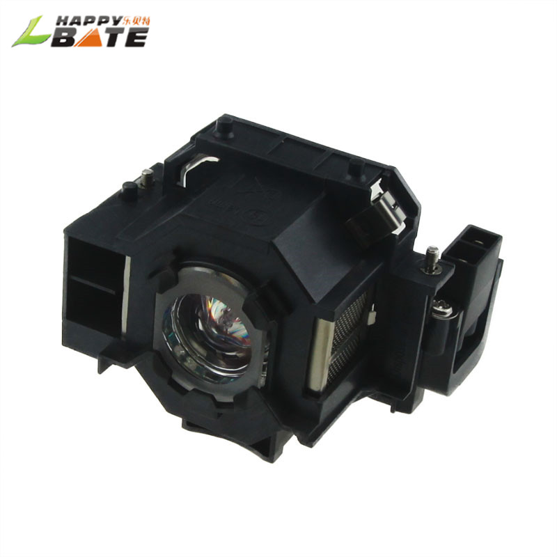 HAPPYBATE ELPLP41 Compatible Lamp with Housingfor Powerlite S7 EX30/EX21/EX50/EX70/EMP-H283A/H284A EMP-75,EMP-77C,EMP-77,EMP-S52 compatible projector lamp epson v13h010l41 emp x5e ex21 ex30 ex50 ex70 powerlite 77c powerlite 78 powerlite s5 powerlite s6