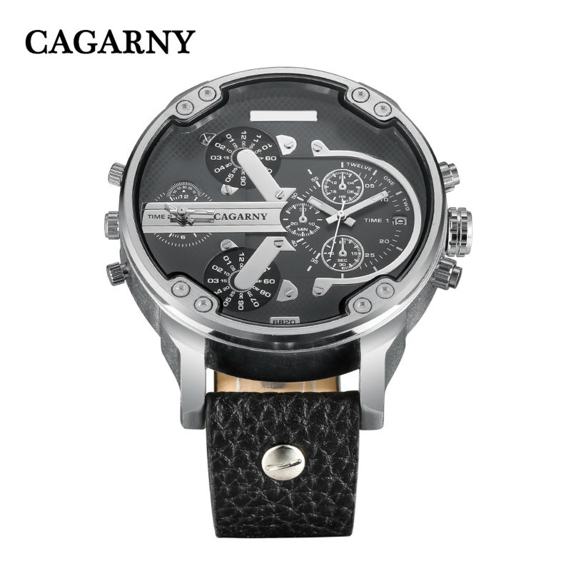 dual time zones military mens watches   (14)
