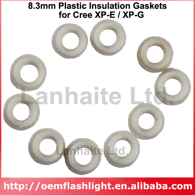 Aliexpress.com : Buy 8.3mm Plastic Insulation Gaskets for Cree XP E ...