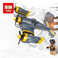 New Beautiful Science Fiction Fighting Aircraft Technical Series The Lepin 22021 919Pcs Building Blocks Bricks Toys Model Gift