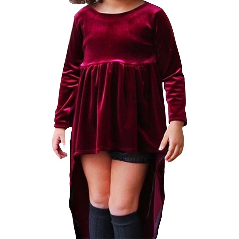 Baby Toddler Dress Long Sleeve Baby Newborn Girl Autumn One-pieces-High Waist Vintage Christmas Party Dress Childrens Clothing