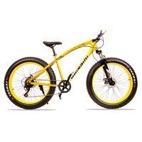 High Quality 7 21 Speed 26x4 0 Fat Bike Mountain Bike Snow Bike Shock Shock Absorber