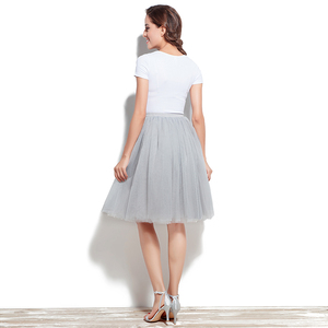 Image 2 - Adult Tutu Petticoat Performance Modern Dance Skirt Princess Fluffy Tulle Ballet Skirt Fairy Net Underskirt Size S to 5XL 12021