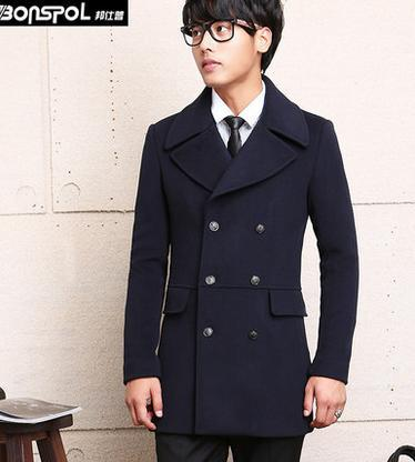 Short Pea Coat With Hood g5k3d1