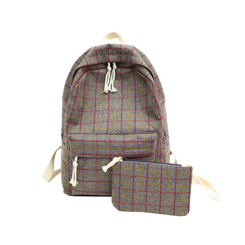Gray Backpack