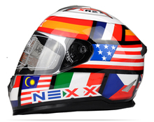 Free shipping new high-end limited edition NEXX road racing motorcycle helmet full helmet sports men and women