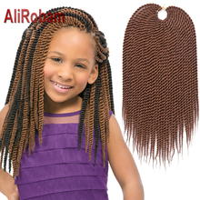 14inch 30roots/pack For Kids Crochest Box Braids Hair Extensions Havana Mambo Twist Hair Extension Xpressions Braiding Hair