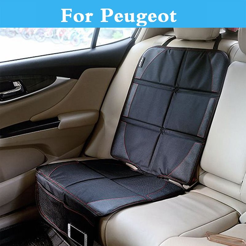 New Luxury Car Child or Baby Auto <font><b>Seat</b></font> Protector Mat,Protection For <font><b>Peugeot</b></font> 1007 107 108 2008 206 <font><b>207</b></font> 208 208 GTi 301 307 3008 image