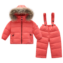 Fashion 2018 Warm clothing for girls down jackets for girls winter clothing for children boy's costumes outdoor Parka Jacket