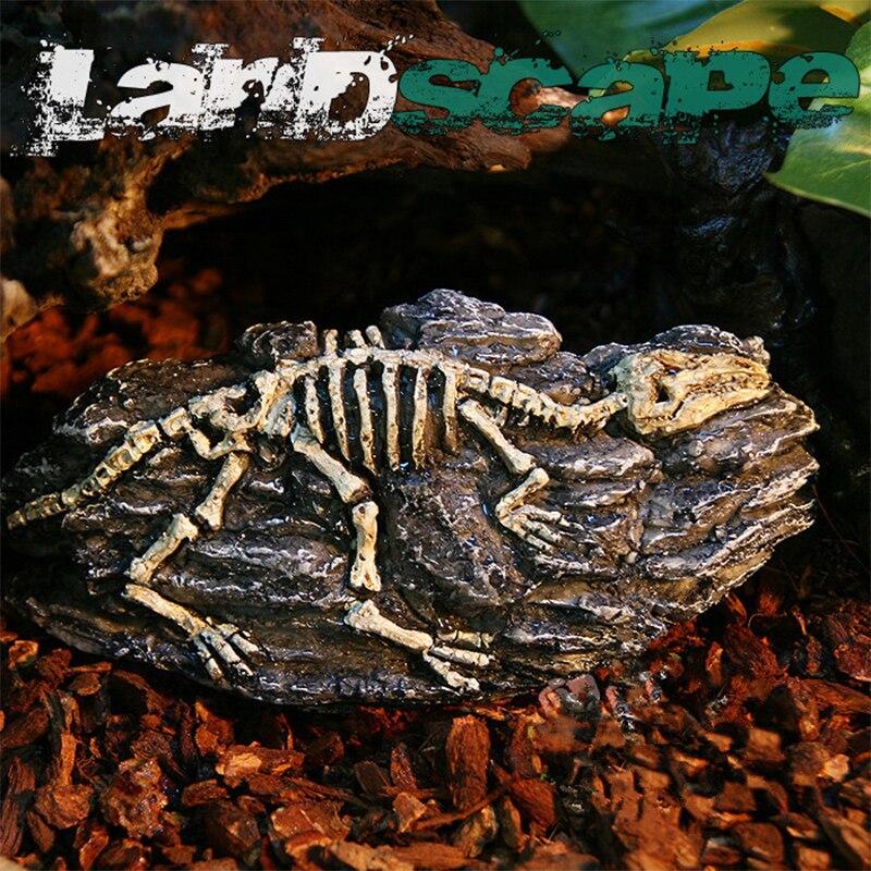 Resin Reptile Aquarium Dinosaur shell Emulational ...